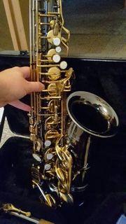 Altsaxophon schwarz