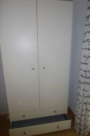 Kleiderschrank ikea weiß  Ikea Pax Kleiderschrank Weiss - Haushalt & Möbel - gebraucht und ...