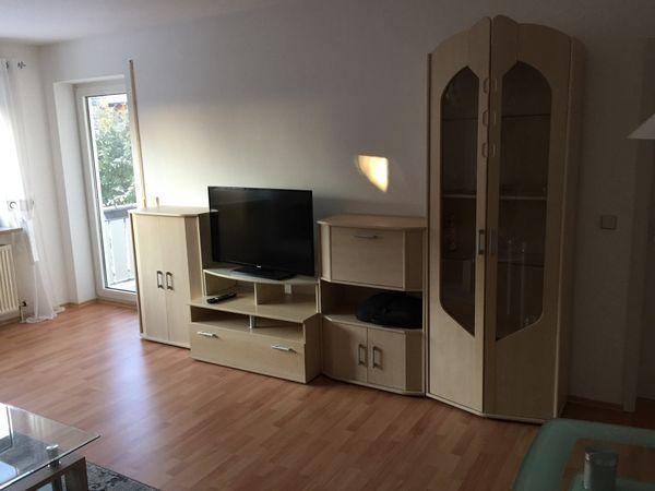 Schrankwand helle Ausführung » Wohnzimmerschränke, Anbauwände