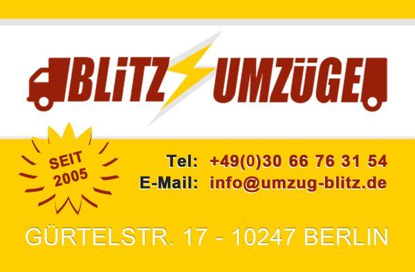 Blitz Umzüge Berlin blitz umzüge umzugsfirma berlin umzüge gewerblich kaufen und