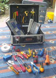 gebrauchter Werkzeugkoffer Netzwerktechnik