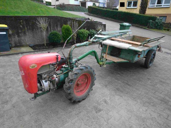 einachser irus u1200 mit anh nger in gaggenau traktoren landwirtschaftliche fahrzeuge kaufen. Black Bedroom Furniture Sets. Home Design Ideas