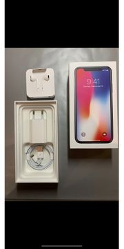 iPhone X Spacegrau 256 Gb