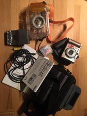 PowerShot A20 Kamera mit Unterwassergehäuse