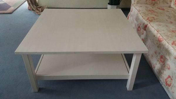 Ikea Couchtisch Weiss Holz 90x90x46 5 In Hemmingen Couchtische