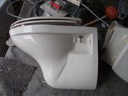 Gebrauchte gut erhaltene Hänge-WC mit