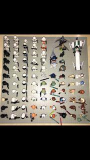 87 Lego starwars Figuren Sammlung