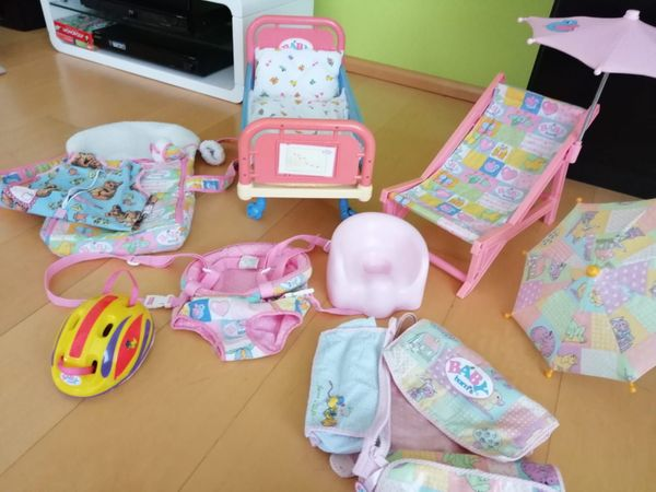 Wipstoel baby born: baby born trage wippe autositz in kr. dachau