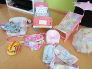 Große Baby Born Sammlung