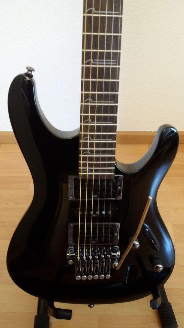 Ibanez S570-BK Saber E-Gitarre Schwarz in Asperg - Gitarren/-zubehör ...