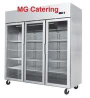 Tiefkühlschrank mit 3 Glastüren 1