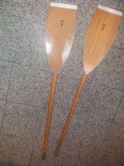 Holzruder Holzpaddel
