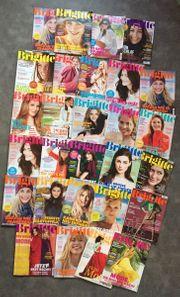 große Brigitte Zeitschriftensammlung