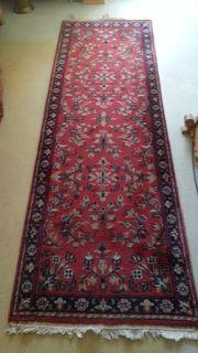 Orientteppich handgeknüpft 260 x 80