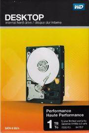 WD-Festplatte 1TB: