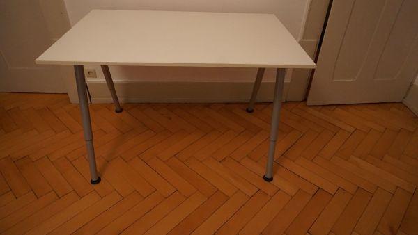 Schreibtisch Ikea Thyge weiß in Heidelberg - Büromöbel kaufen und ...