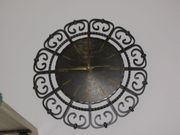 Wand- Uhr schmiedeeisern