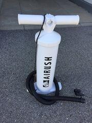Pumpe für Kite Schlauchboot