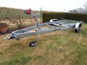 Neuwertiger Bootstrailer Harbeck BT 3000