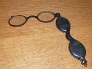 Lorgnette Klappbrille Stielbrille Faltbrille Brille