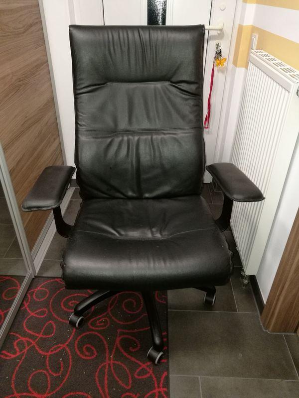 Schwarzen Chefsessel Defekt In Korntal Münchingen Ikea Möbel