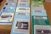 Grundig Service Anleitungen Video 2000