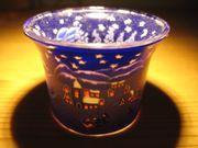 Votivglas Teelichthalter Leuchtglas