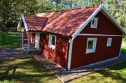 Schwedenvilla nahe Fluss -