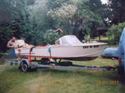 Motorboot zu verkaufen