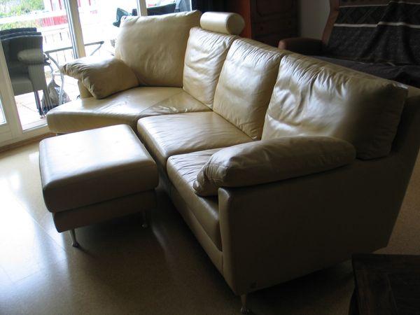 Musterring Couch Eckcouch Sofa Beige Sehr Guter Zustand Hocker