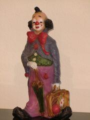 Clownfigur handbemalt 41 cm groß