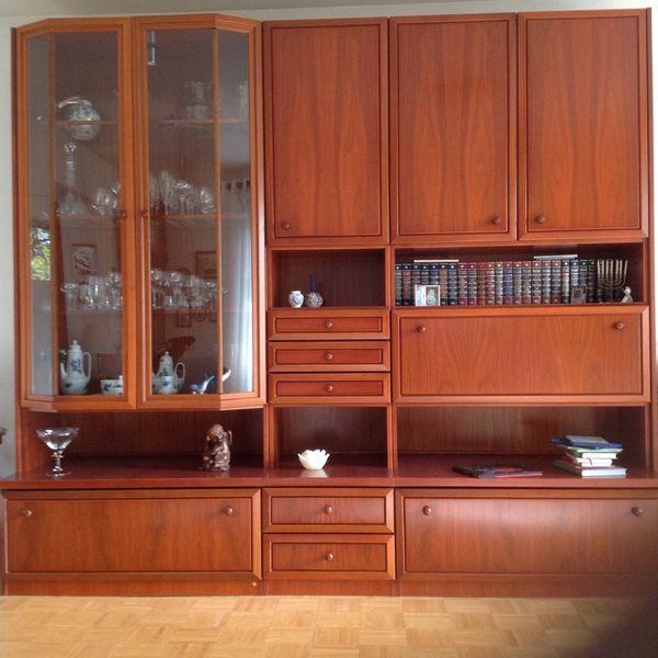 Wohnzimmer Schrankwand von Mustering