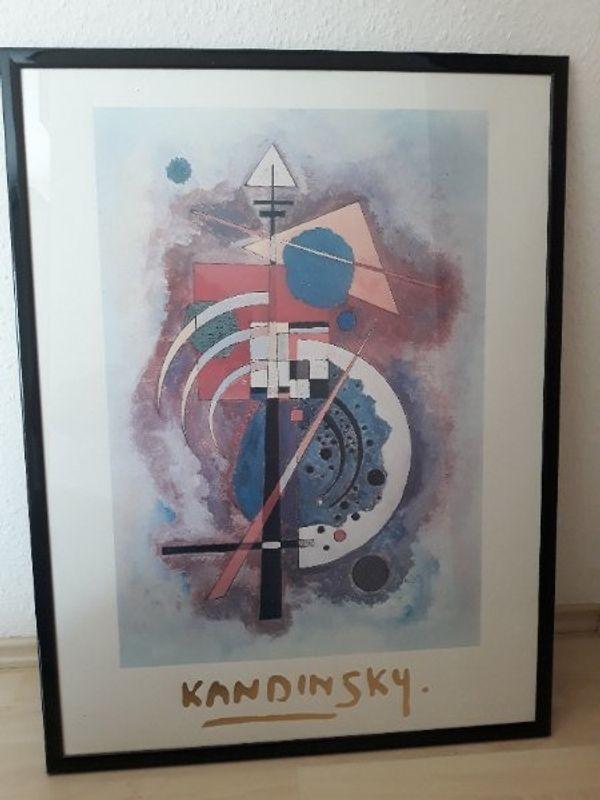 Div Gerahmte Kandinsky Drucke - gebraucht kaufen bei dhd24.com