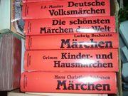 Märchenbuchsammlung, 6 Bücher