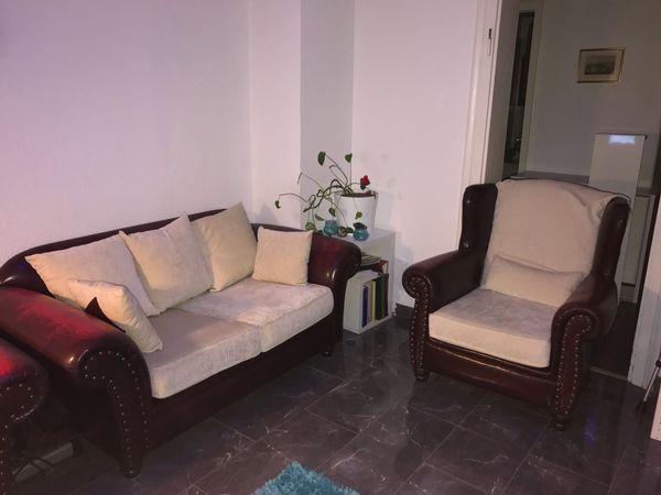 Couchgarnitur Mit 2 Bezuge In Mannheim Polster Sessel Couch
