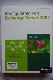 Konfigurieren von Microsoft Exchange Server
