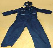 Polizei-Kostüm 3-teilig Gr 116 sehr