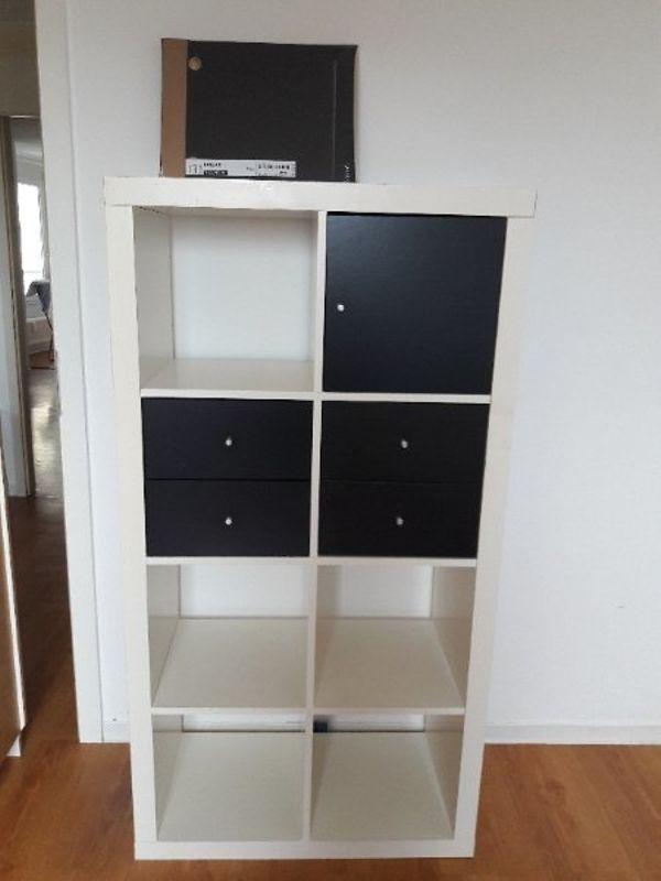 Expedit-Regal, weiß, inkl. Einsätze in Eppelheim - IKEA-Möbel kaufen ...