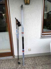 Langlauf Ski mit