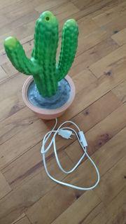 Heico Nachtlicht Form Kaktus grün
