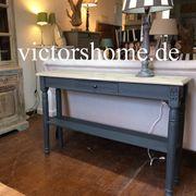 Wandtisch Wandkonsole Schmales Sideboard anthrazit