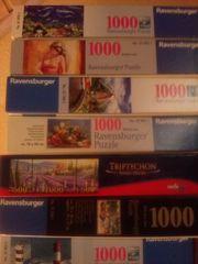 diverse Puzzle 1000 Teile