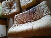 Braunes Leder Sofa /
