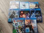 PS4 Spielsammlung