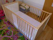 Baby Gitterbett mit
