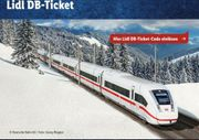 2x LIDL Bahntickets 10EUR eCoupon-Sofortversand