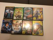 DVDs Harry Potter,