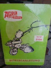 Agria Gartenfräse typ 2100