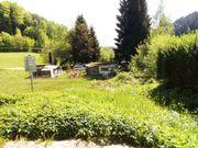 Campingplatz mit zwei