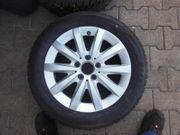 4 Winterreifen Bridgestone mit Alu-Felgen